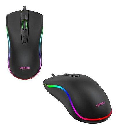 Mouse Gamer GT-M6 RGB USB