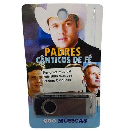 Pendrive musical 700-1000 musicas Padres Católicos