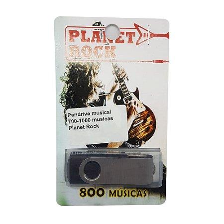 Pendrive musical 700-1000 musicas Planet Rock