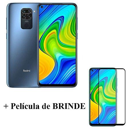 Smartphone redmi Note 9 4GB/128GB + Pélicula 3D Brinde