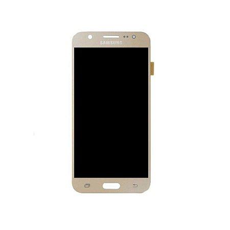 Frontal Samsung J7/J700M Dourado Incell