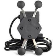 Suporte Gps/Celular Para Motos com Travas e carregador