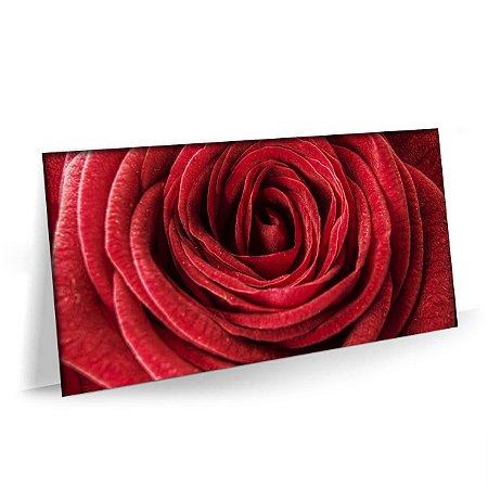 Quadro Natureza Flores Rosa Tela Decorativa