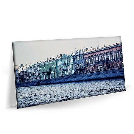 Quadro Russia San Petersburg Tela Premium
