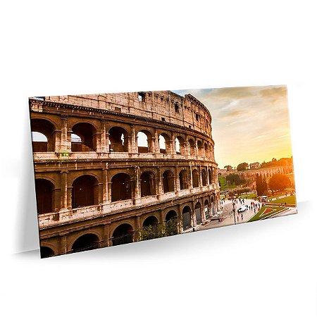 Quadro Coliseu Roma Tela Decorativa