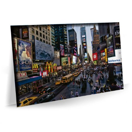 Quadro Nova York Times Square  Tela Decorativa