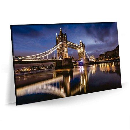 Quadro Tower Bridge Londres Tela Decorativa