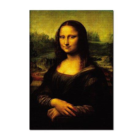 Quadro Monalisa Leonardo da Vinci Tela Decorativa
