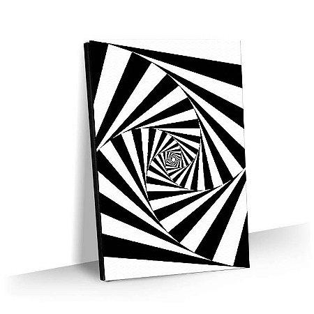 Quadro Abstrato Movimento Tela Decorativa