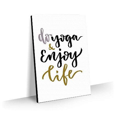 Quadro Yoga Tela Decorativa