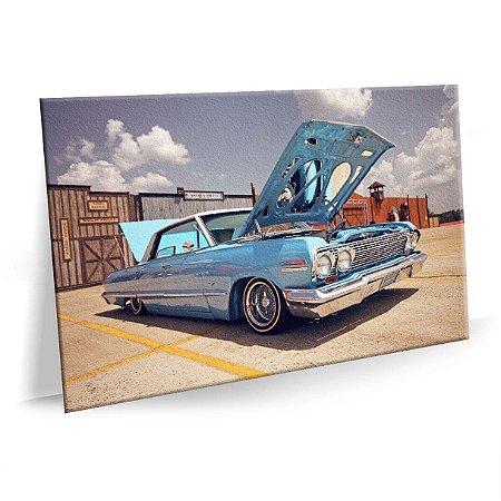 Quadro Cadillac Vintage Automovel Tela Decorativa