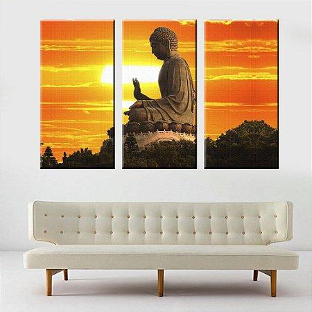 Conjunto Telas Decorativas Buda Religioso