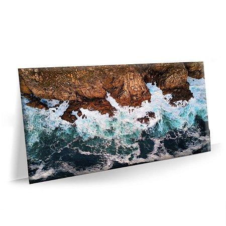 Quadro Praia Oceano Tela Decorativa