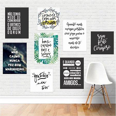 Kit Motivacional 03 - Placas Decorativas