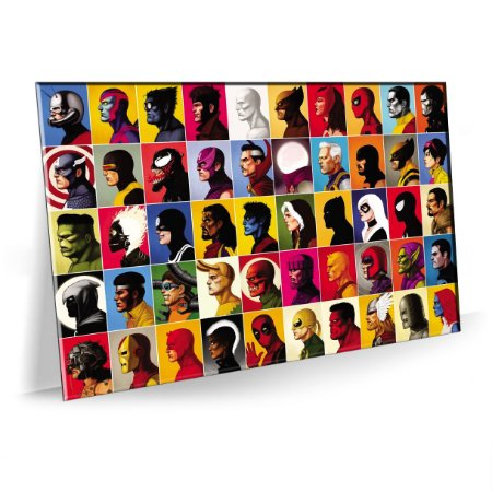 Quadro Super Herois Marvel Tela Decorativa