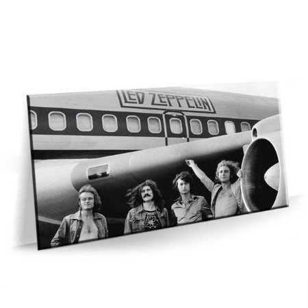 Quadro Banda Rock Led Zeppelin Tela Decorativa