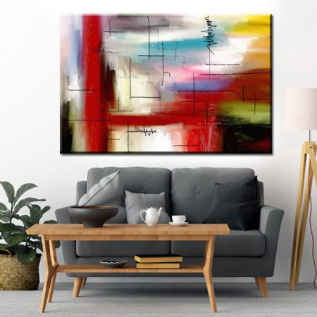 Quadro Canvas Abstrato Especial 28