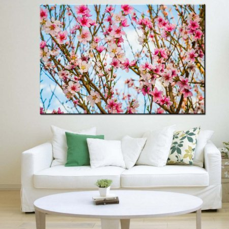 Quadro Canvas Hibisco Natureza