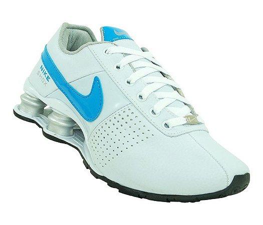 de54f9ca7d Tênis Feminino Nike Shox Deliver Branco e Azul - Import Vip