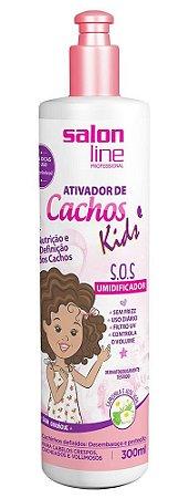 Ativador de Cachos Kids Sem Enxágue Salon Line - 300ml