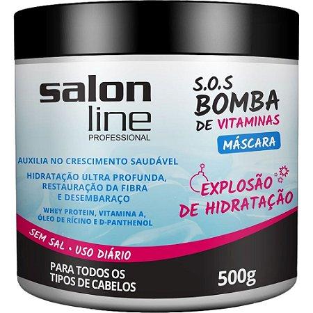 Máscara SOS Bomba de Vitaminas Salon Line - 500g