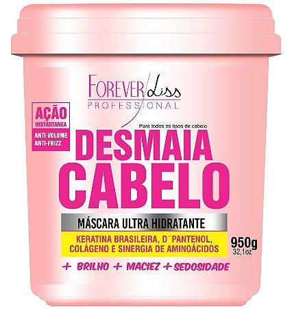 Desmaia Cabelo Máscara Ultra Hidratante Forever Liss - 950g