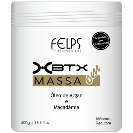 Felps Botox XBTX Tratamento Capilar em Massa Óleo de Argan e Macadâmia - 500g