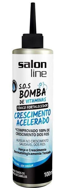 Tônico Fortalecedor SOS Bomba de Vitaminas Salon Line - Crescimento Acelerado - 100ml