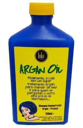 Lola Argan Oil/Pracaxi Shampoo Reconstrutor - 250ml