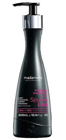 Madamelis Spuma Lisa Shampoo Matizador Que Alisa - 300ml