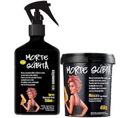 Kit Morte Súbita Lola Cosmetics: Reparação Total 250ml + Máscara 450g (2 Produtos)