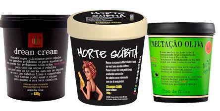 Cronograma Lola Cosmetics: Shampoo Sólido Morte Súbita 250g + Dream Cream 450g + Umectação de Oliva 200g (3 Produtos)