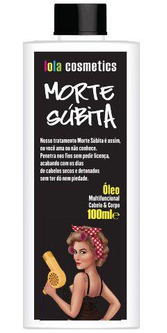 Morte Súbita Óleo Multifuncional Cabelo e Corpo Lola Cosmetics - 100ml
