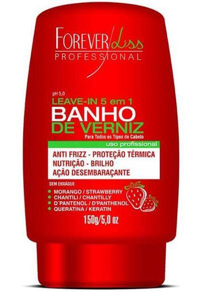 Banho de Verniz Morango Leave-in - 150g