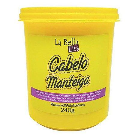 Cabelo Manteiga Máscara de Hidratação Profunda La Bella Liss - 240g