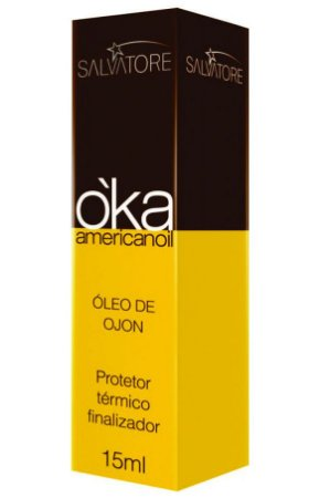 Salvatore Oka Americanoil Óleo de Ojon Protetor Térmico - 15ml