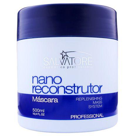 Salvatore Nano Reconstrutor Máscara - 500ml