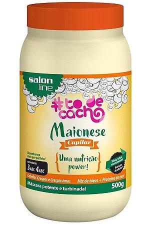 Maionese Capilar To de Cacho - Uma Nutrição Power Salon Line - 500g