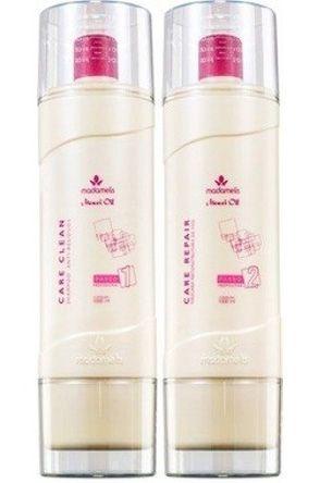 Madamelis Kit Escova Monoi Oil Care Clean - 2x1 Litro