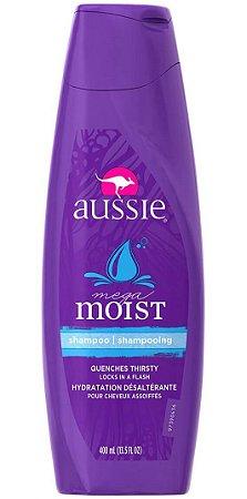 Aussie - Mega Moist Shampoo Hidratante Cabelos Secos - 400ml