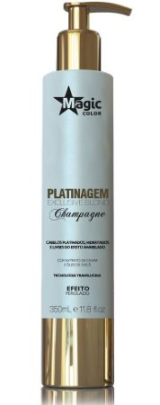 Magic Color Platinagem Exclusive Blond Champagne - Efeito Perolado - 350ml