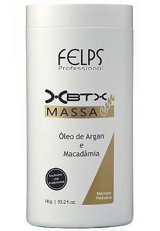 Felps Botox XBTX Tratamento Capilar em Massa Óleo de Argan e Macadâmia - 1kg