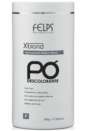 Felps Xblond Pó Descolorante Platinum Blond - 500g