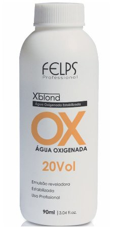 Felps Xblond OX Água Oxigenada 20 Volumes - 90ml