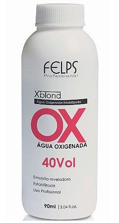 Felps Xblond OX Água Oxigenada 40 Volumes - 90ml