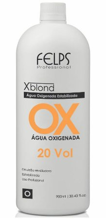 Felps Xblond OX Água Oxigenada 20 Volumes - 900ml