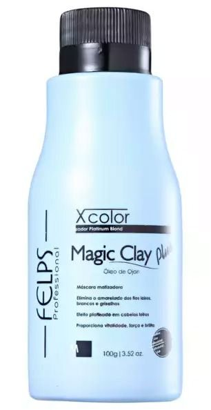 Felps Magic Clay Plus Xcolor Matizador Platinum Blond - 100g