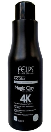 Felps Magic Clay 4K Xcolor Matizador Platinum Blond - 500g