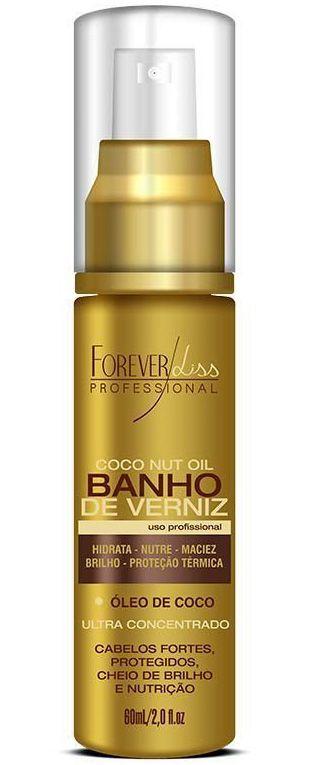 Banho de Verniz Óleo de Coco Forever Liss - 60ml
