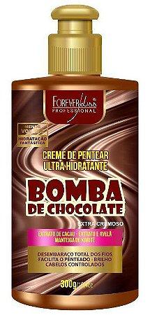 Bomba de Chocolate Creme de Pentear Ultra Hidratante Forever Liss - 300g